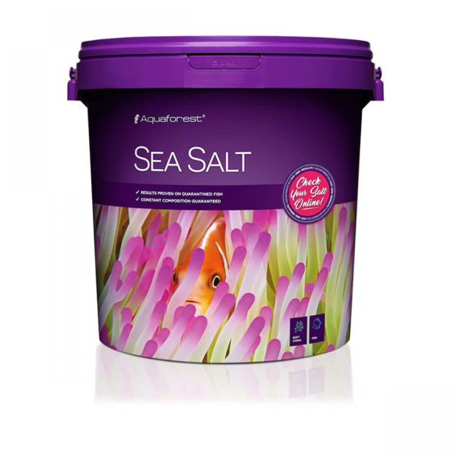 Aquaforest Sea Salt 22 Kg.